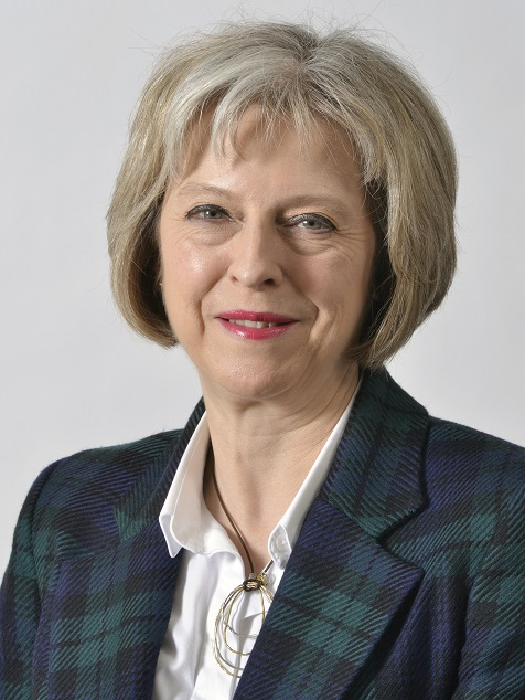 Theresa May lucky outfit